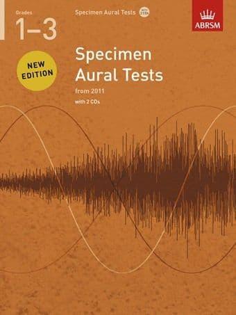 ABRSM Specimen Aural Tests Grades 1-3